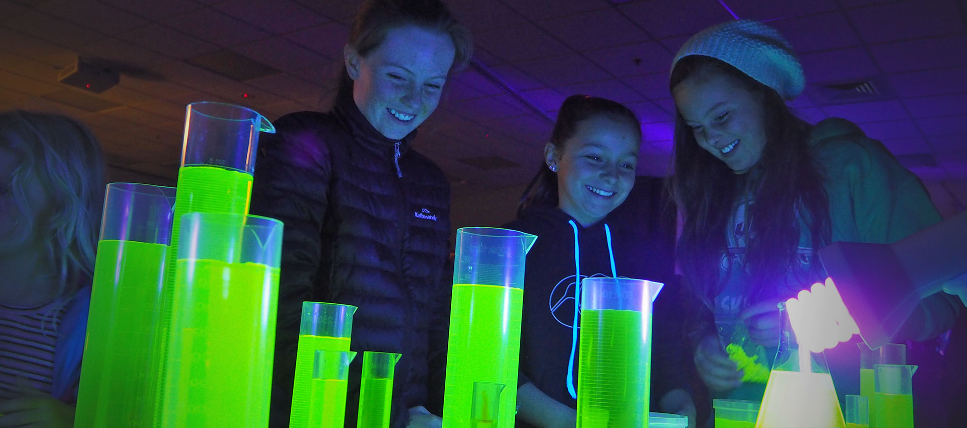 Science experiment - school