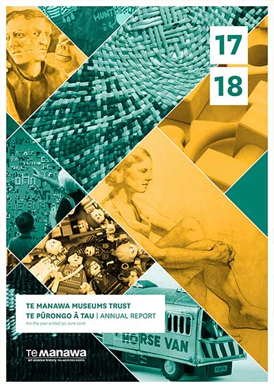 Cover of the Annual Report 2018