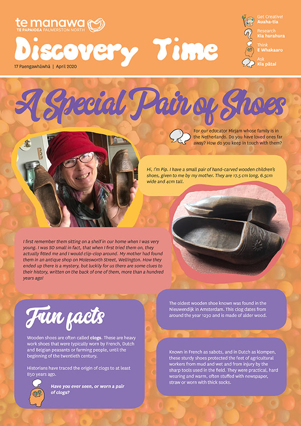 Publication cover - Discovery Time, Wooden Shoes