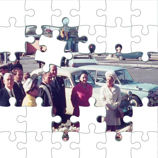 Jigsaw puzzle - officials