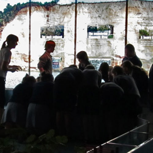 school activity in the Water Room