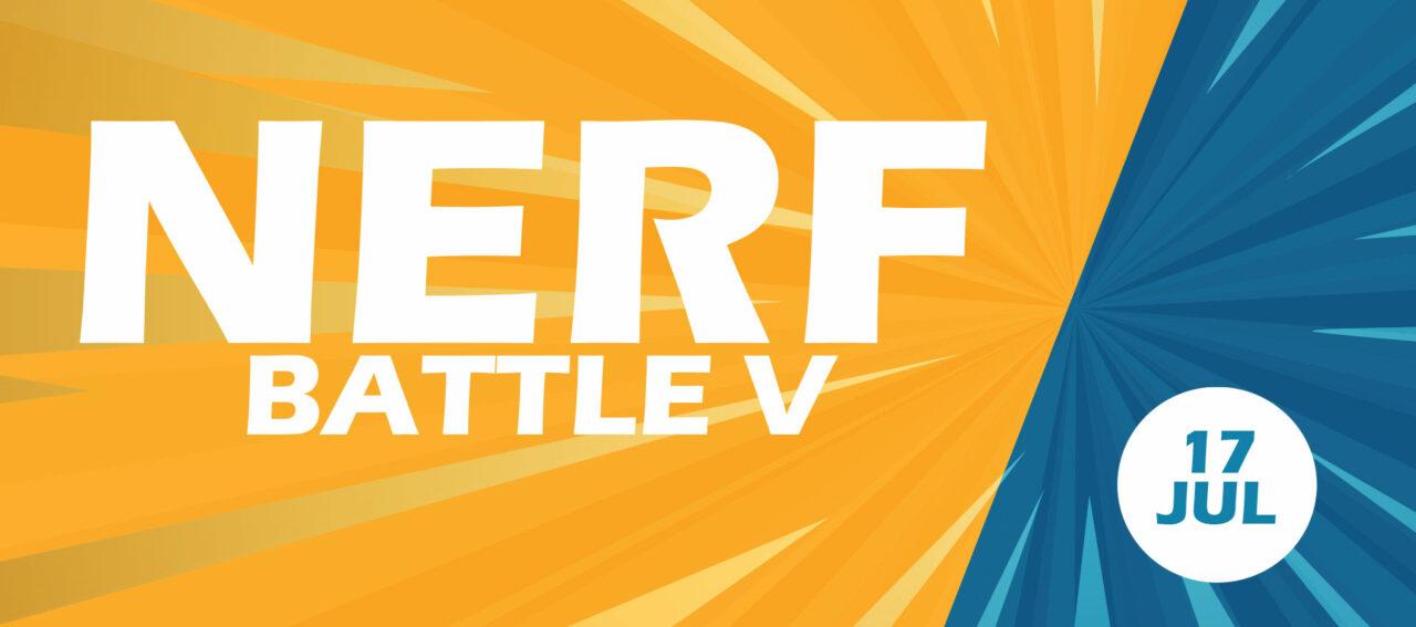 Nerf Battle Five